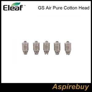 ISmoka Eleaf GS Air Puro cotone testa 1.2ohm 0.75ohm GSAir doppio bobine di ricambio testa bobina per GS Air GS Air 2 atomizzatore GS-serbatoio Atomizzatore