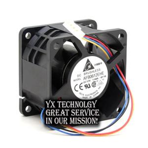 Delta 10 pcs lot New violence 6CM 6038 60mm 12V 1.68A AFB0612EHE PWM cooling fan speed control intelligent 60*60*38mm