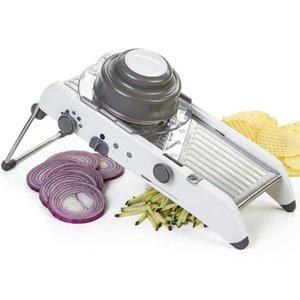 Hot Mandoline Slicer Cozinha Aço Inoxidável Manual Cortador Tritador Julienne Para Slicing Alimentos Fruit Legumes
