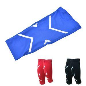 Atacado- Compression Ciclismo Legwarmers Segurança do esporte que funciona Legging Basketball Futebol calças justas Sportswear para mulheres dos homens