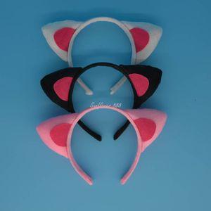 XMAS Party Cat EAR Animal Costume Headband Head Wear 3 Colors