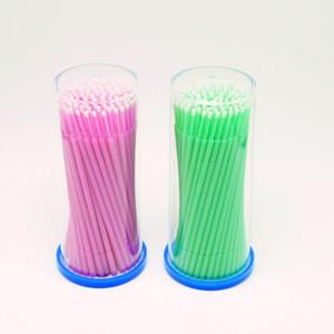 LilacLine útil 200 PCS aplicadores de escova de ponta Micro remoção de limpeza de cílios cílios Original!
