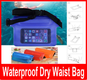 Impermeabile Dry Marsupio Portafoglio Phone Camera Underwater Swim Kayak Canottaggio Marsupio Marsupio Marsupio