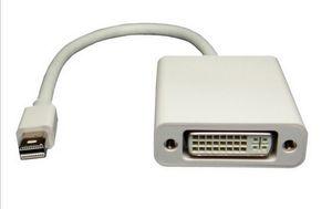 Горячая новый Mini DisplayPort для DVI кабель-адаптер Mini DP для DVI женский 1080P разрешение DHL бесплатная доставка
