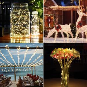 20 Meter 200 LED Licht Kupferdraht Solarlicht String Lichter wasserdicht Weihnachten Laterne Kupfer Lichter Großhandel