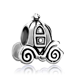 Mode frauen schmuck metall Jackolantern Halloween Cinderella Kürbis Wagen Europäischen spacer perle charme passt Pandora armband