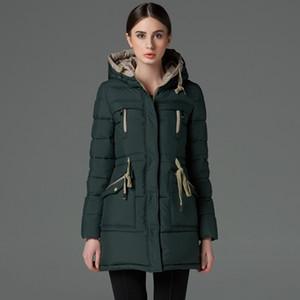 İcebear Uzun Kış Marka Moda Giyim 2015 Ceket Ve Kız Artı boyutu Kadınlar Moda Parka Aşağı Giyim Aksesuarları Coats