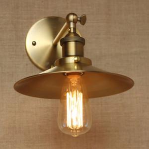 Pared de la vendimia Led Lámpara Loft Antique Swing Long Arm luces Classic Sconce para el hogar Interior Bedside Up Down Bed Lectura Retro