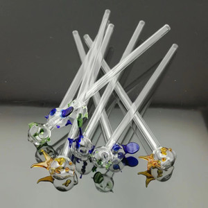 The fish color Straw, wholesale glass hookah accessories bongs