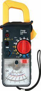 Testador de bloqueio de dados KT7110 Medidor de braçadeira analógico 5 Função em 11 faixas Corrente CA máximo 300A com cinta Anexando para facilitar o transporte