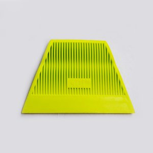 Auto İçin Kaliteli Vinil sarma aracı Sarı Güç İnme Çekçek Yumuşak kazıyıcı QG-05 tüm satış tinting