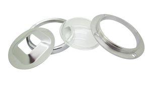 20W - 100W LED 모듈 칩 라이트에 대한 70mm Led 렌즈 + 79mm 반사경 콜리메이터베이스 + 91mm 고정 브래킷 DIY