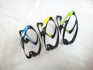 Titular Garrafas de Água de bicicleta Material Da Fibra De Carbono Bicicleta Gaiolas Garrafa de Água de Grande Capacidade Gaiolas 3 Cores