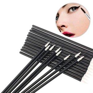 100pcs Eyeliner Brush one-off disposable Eye Liner Pen Makeup Brush Tool