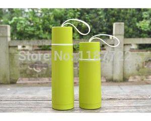 360 ML Nuevo Taza de viaje para niños Taza de vacío Cute Brief Acero inoxidable Deportes Botella de agua Térmica My Bottle Cup Envío gratis