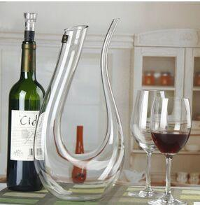 U الكريستال المصفق المصفق النبيذ المصفق المصفق النبيذ Harp Crystal decanter U - Decanter Harp wine Decanter