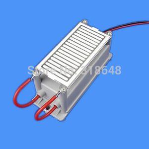 110V 220V 8g Ceramic Plate Ozone Generator Double Electrodes Good Heat Dissipation Property Euro Plug Available + Free Shipping