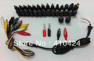 Frete grátis ! 39 pçs / set 39 em 1 Universal AC DC Jack Power Adapter Plug Conector de Alimentação para HP IBM cabo de Notebook Dell Apple ordem $ 18no