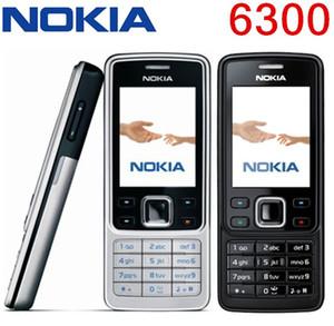 Orijinal Yenilenmiş Telefon Nokia 6300 Unlocked Cep Telefonu TFT, 16 M Renkler Rus Klavye İngilizce Klavye En Ucuz Telefon