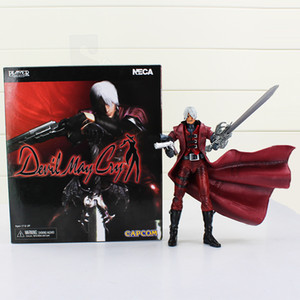 Neca Devil May Cry Dante PVC Action Figure Collectible Model Toy Doll With Box Free Shipping 18cm