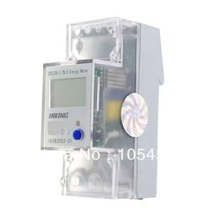 5-65A 220V 60Hz monophasé réinitialisation à zéro DIN-rail Kilowatt LCD heure kwh Meter ordre $ 18aucun morceau