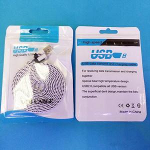 10.5 * 15 cremallera de plástico paquete al por menor paquete de cajas de OPP para el cable de sincronización de datos del cargador micro USB Auriculares iphone Sams