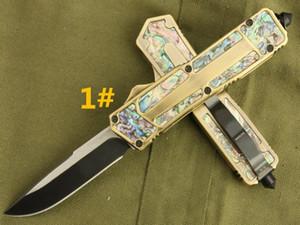 Рекомендую mi scab gold Abalone shell 4 модели охотничий складной карманный нож нож выживания рождественский подарок для мужчин копии 1 шт. Бесплатная доставка