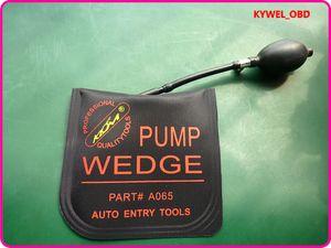 새로운 KLOM PUMP WEDGE 에어백 에어 웨지 - 펌프 웨지 잠금 장치 용 잠금 장치, 범프 키 자물쇠 도구, 중간 크기 검정색