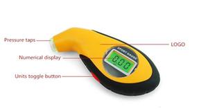 LCD LED Digital Reifen Gauge Prospektive Tragbare Luft Manometer Elektronische Reifendruckanzeige Digital Barometer DHL