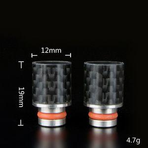 Extremidades del goteo de la fibra de carbono 510 Boquilla punta ancha del goteo del diámetro interior para el atomizador RDA E Extremidades del goteo del cigarrillo Promoción caliente grande de Promoiton