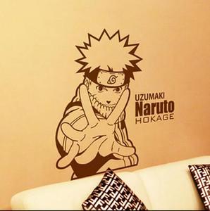 애니메이션 만화 Naruto Uzumaki 나루토 큰 Hnad 차가운 Propile PVC 할로우 아웃 환경 Wall 스티커 데코 실내 장식