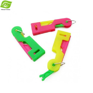 10 Unids / lote Regalo Para Mamá Dispositivo de Roscado Automático Suministros de Costura Mixtos de Varios Colores Dispositivo de enhebrador de aguja, dandys
