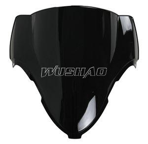 Windscreen Windshield da motocicleta para 1997-2007 Suzuki GSXR1300 GSXR 1300 Hayabusa 97 98 99 01 02 03 04 05 06 07 2005 2006 Preto