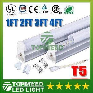 CE UL intégré 1.2m 1ft 2ft 3ft 4ft 22W T5 Tube LED 96Leds 2200lm éclairage LED éclairage fluorescent Tubes Lampe 200200