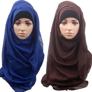 2015 new women fashion lastest muslim colorful scarf muslim hijab, islamic hijab 14 color choose 2pcs lot #3995