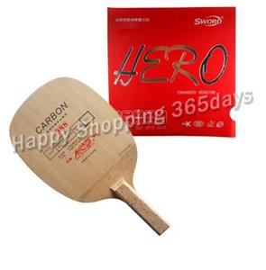 Wholesale-Pro Combo Yinhe 988 with Sword Hero Rubber Tennis Tennis Rack