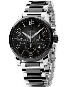 Sıcak Satış Sport Stil İzle Erkek Saat Paslanmaz çelik Man MBL05 için mekanik otomatik seyretmek kol saati saatler