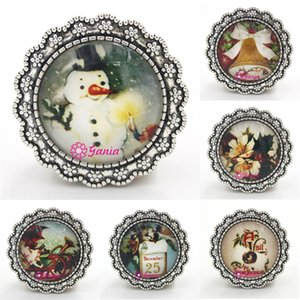 Free Shipping New Arrival Christmas Jewelry Cabochon Style Christmas Brooch Pin for Merry Christmas Jewelry Gift