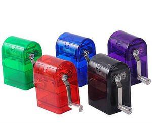 La nuova tabacco della mano acrilica Grinder Innovativo dispositivo di macinazione automatico in plastica per accessori per fumo di tabacco rotto