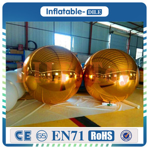 Free shipping door to door 1.5m diameter PVC Inflatable Mirror Ball  Advertising Ball For Decoration And Christmas Celebration