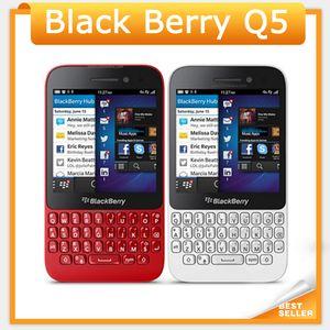 Desbloqueado blackberry q5 4g lte telefone móvel 5.0mp câmera dual-core 2 gb ram 8 gb rom original q5 celular
