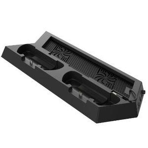 Dikey Fan USB HUB Cooler ile PS4 Pro İnce PlayStation 4 Konsol Kontrolör Çift Şarj Dock Şarj İstasyonu Soğutma Standı