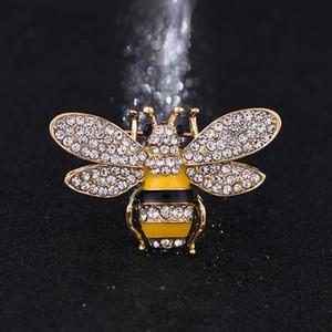 Del progettista di marca Bee Spille spilli per spilla in cristallo fibbia strass donne di alta qualità Gioielli di lusso all'ingrosso