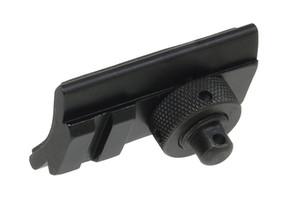 Funpowerland 고품질 광학 고급 라이플 Bipod 회전 스터드 Picatinny 슬롯 어댑터 20mm bipod 어댑터 무료 배송