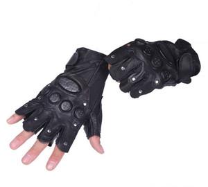 En gros-Livraison gratuite Demi-Doigt Gants fingerless Outdoor anti-dérapant gants mouvement Gants gants de performance