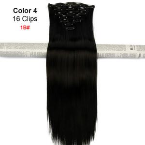 Человеческая бразильская клипса для наращивания волос с натуральными черными цветами, бесплатная доставка