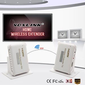 Freeshipping HDMI Wireless transmission Extender 30m 98ft HD 1080P HDMI Transmitter&Receiver Support HDMI 1.4 HDCP 1.4 3D