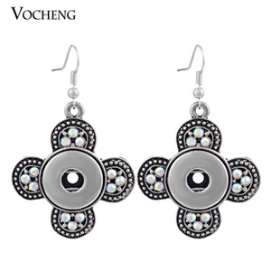VOCHENG NOOSA Dangle Boucles d'oreilles Ginger snap Bijoux Interchangeable 18mm Popper Vintage NN-298