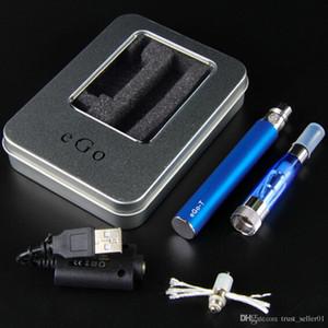 eGo T Starter Kit Ecigarettes eGo-T Batteries 650mah 900mah 1100mah Electronic Cigarette CE4+ Vaporizer Atomizer tanks vape pen box Kit DHL