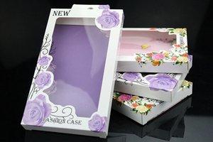 200 stücke Beste Qulity Handy Fall Einzelhandel Verpackung Box Papier Verpackung Für iPhone6 6 plus 5 5 s 4 s Für Samsung S4 s5 Fall verpackung